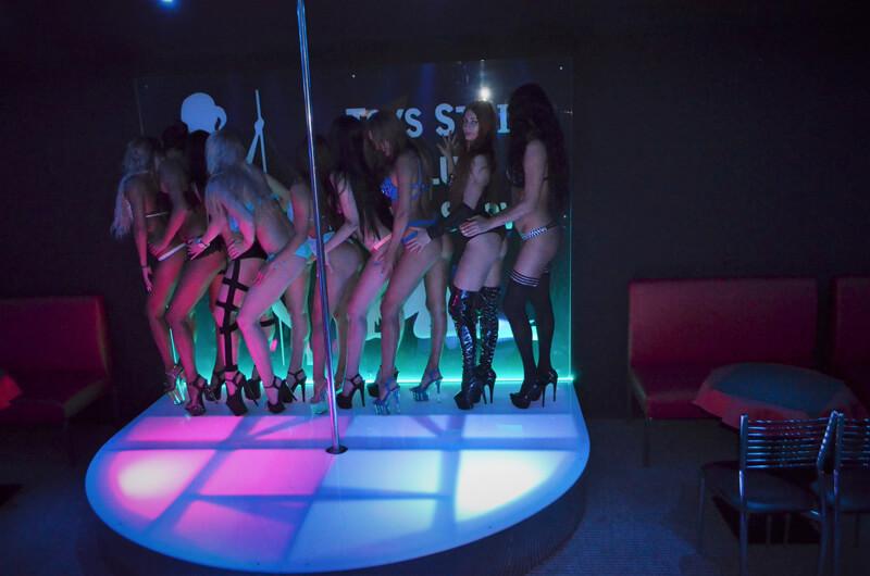 A strip club mini